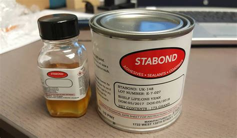 inflatable boat adhesive stabond adhesive 1 2 pint 2 part glue for inflatable boats