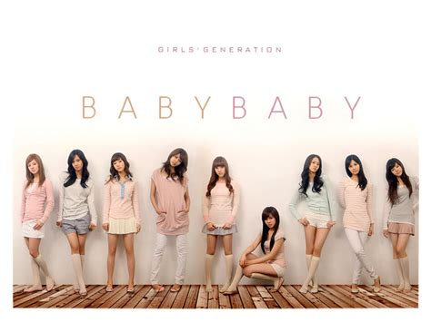 Baby Baby Snsd | snsd girls generation baby baby repackaged album