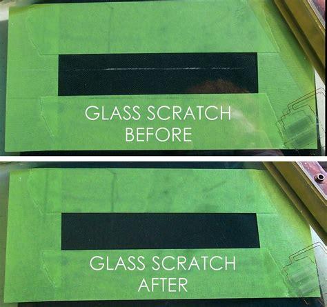 scratch graffiti restoration harbor  glass mirror