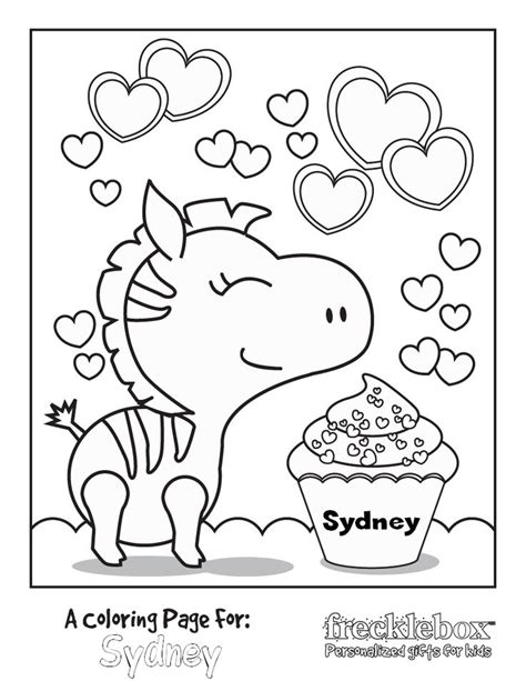 Custom Coloring Pages Free free personalized coloring pages i printables az