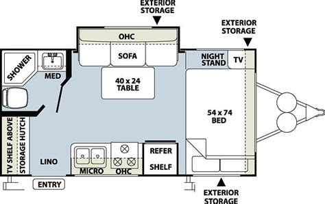small rv floor plans 2012 forest river rockwood mini lite 1809s travel trailer