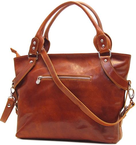 Italian Handmade Bags - italian leather handbags taormina in olive brown