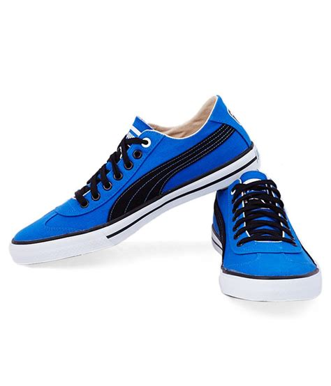 pumas sneakers shoes blue colour rmitbuddhistsociety org