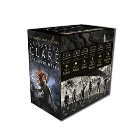 The Mortal Instruments 1 5 By Clare bol the mortal instruments boxset 1 6