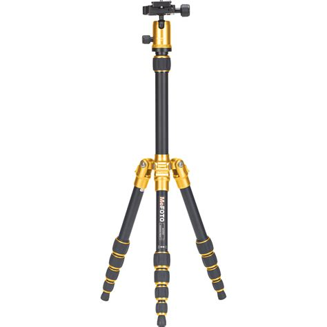 Tripod Mefoto mefoto backpacker travel tripod yellow a0350q0y b h photo