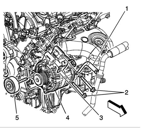 2007 gmc acadia alternator replacement wiring diagrams