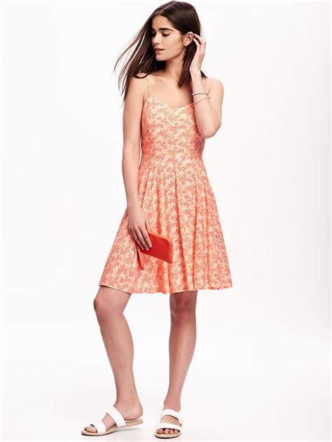 Cami Printed Dress printed cami dress for shower dress