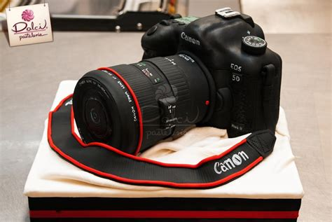 How To Make Cake Decorations At Home by You Have To See Canon Camera Cake On Craftsy