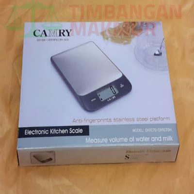 Taffware Timbangan Dapur 5kg 1g timbangan dapur digital camry ek9270 kapasitas 5kg 1g