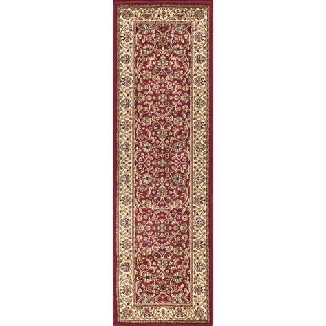 runner rugs 2 x 10 tayse rugs sensation 2 ft 3 in x 10 ft runner sns4810 2x10 the home depot