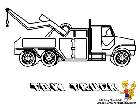 coloring page big truck ford semi truck coloring pages