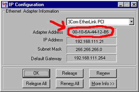 Mac Address Info Lookup Optimus 5 Search Image Exle Of A Mac Address