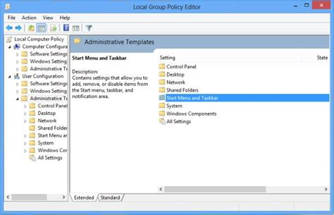 how to open administrative templates in windows 7 how to clear notification of metro apps at logoff in windows 8