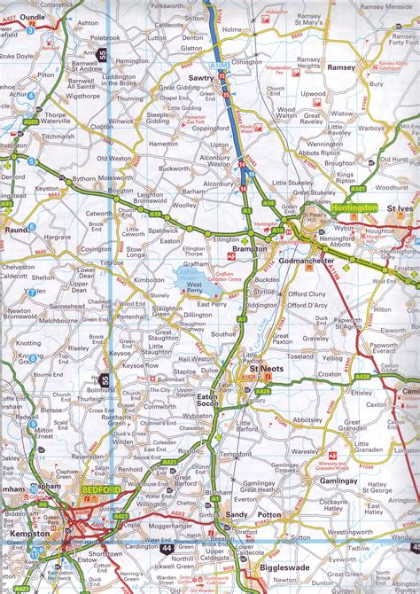 aa route map uk road atlases great britain buy