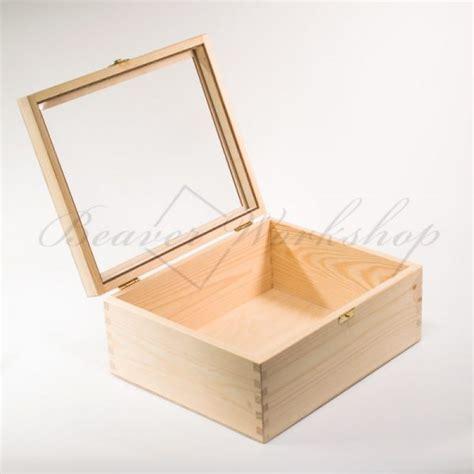 large wooden gift box bespoke laser engraving
