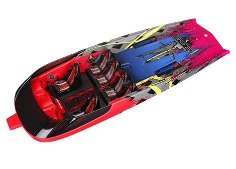 traxxas hawaiian boat hatch dcb m41 hawaiian graphics trxxs winkel nl