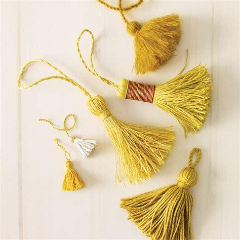 Handmade Tassels - handmade tassel crafts martha stewart