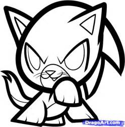 how to draw doodle cat 1 how to draw sonic cat sonic step by step anime