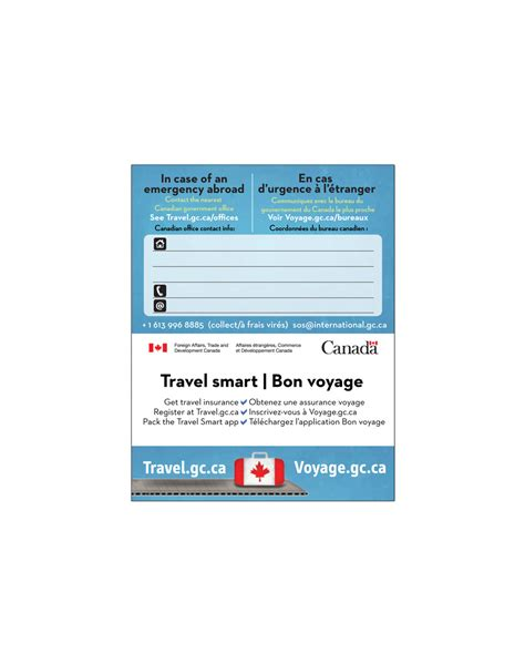 Travel Contact Card Template by Emergency Contact Card Template Image Collections