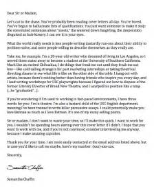 The Best Cover Letter Ever   Her Inklings