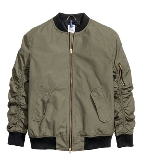 Divided By H M Parka Jacket pilot jacket h m divided guys h m divided collection