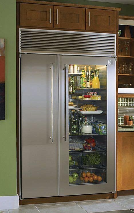 wow     amazing glass doored fridge
