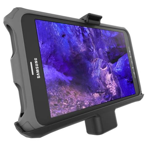 ram mount samsung galaxy tab active 8 0 powered tablet cradle ram hol sam7pu