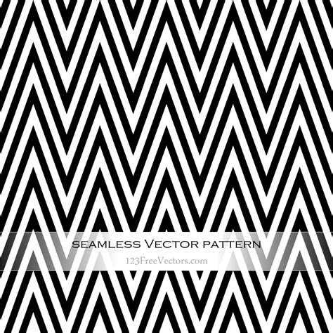 black pattern free vector black and white chevron seamless pattern vector download
