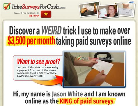Get Paid Per Survey - setting up passive income bdo get paid 20 dollars per survey technopark s a