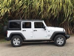 2016 jeep wrangler unlimited sport white profile photos