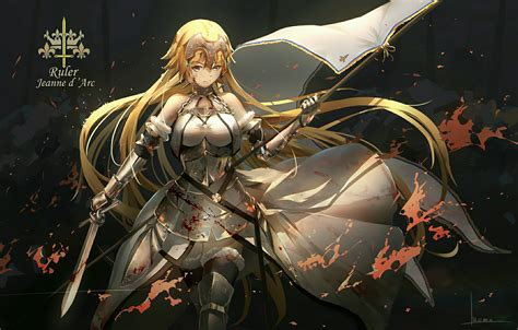 anime fate series fate series fate apocrypha anime girls ruler fate