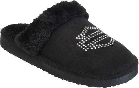black house slippers harley davidson women s elesia black house slippers d83797 ebay
