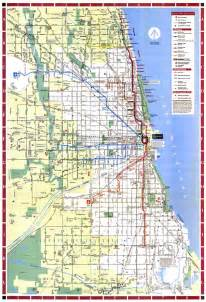 Maps Chicago by Chicago L Org System Maps Route Maps