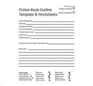 fiction book template book outline template 9 free word excel pdf format