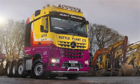 volvo heavy haulage trucks for sale heavy haulage specialist ruttle plant weighs in with mpg