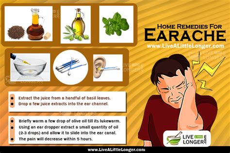 home remedies to treat earache in adults and children