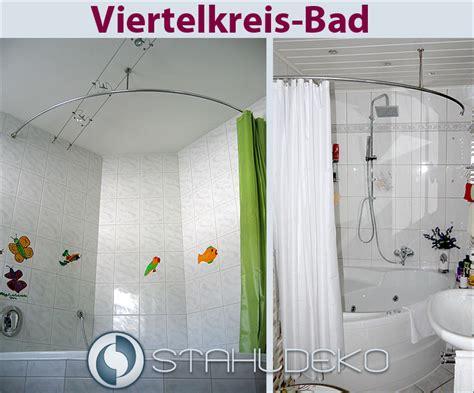 badewannen duschvorhangstange duschabtrennung f 252 r duschvorhang viertelkreis bad rund