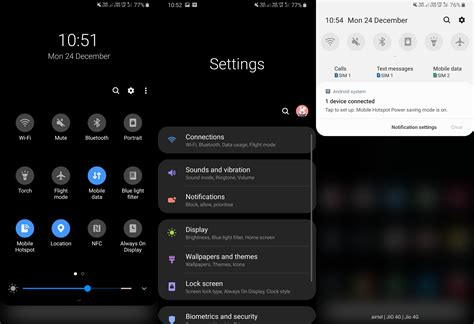 how to android 9 pie update on galaxy s8 and s8