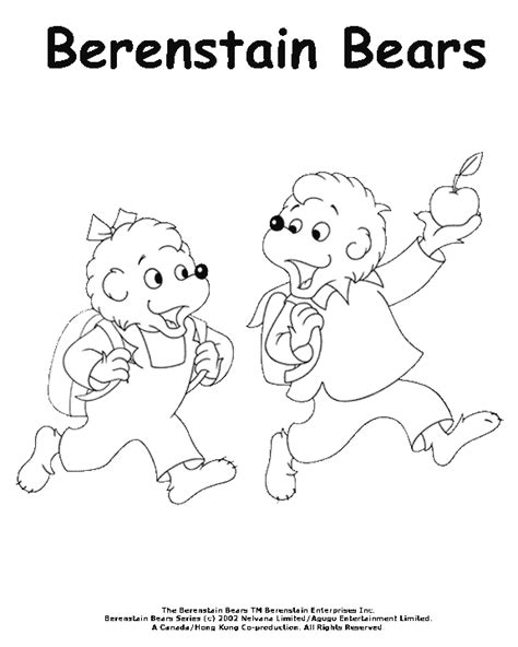 sister bear coloring page coloring activity pages sister brother bear going to