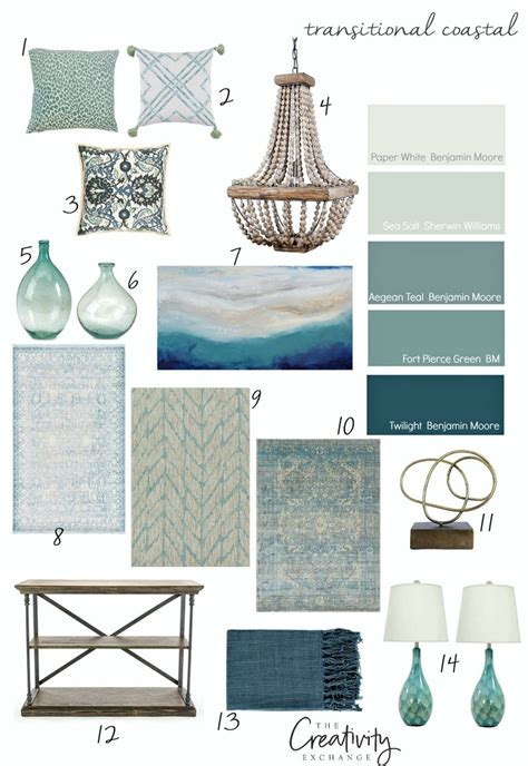 design inspiration color moody monday transitional coastal design