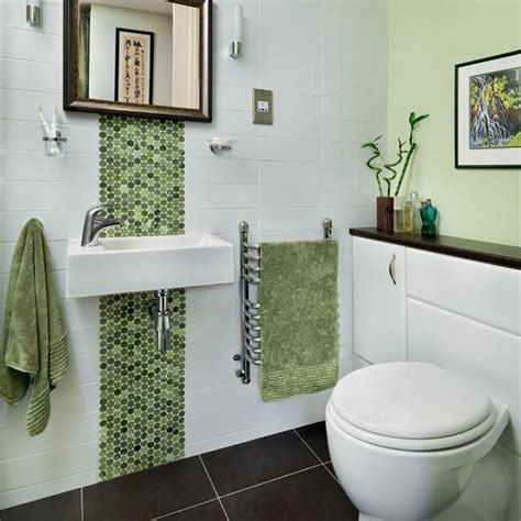Mosaic Bathrooms Ideas | green mosaic bathroom bathroom decorating ideas