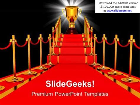 free ppt templates for winners golden trophy winner competition powerpoint templates ppt