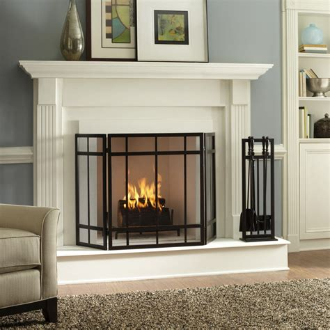 Three fireplace screens in budget, midrange and investment