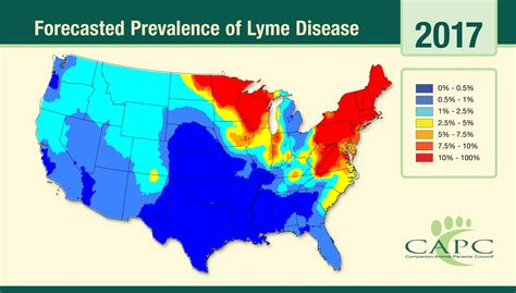 lyme disease map lyme sci maps provide important clue to human disease risk