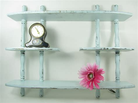 shabby chic decor wood shelf vintage shelffrench decor