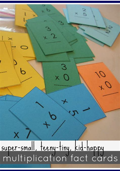 multiplication table flash cards mastering multiplication tables with mini flash cards