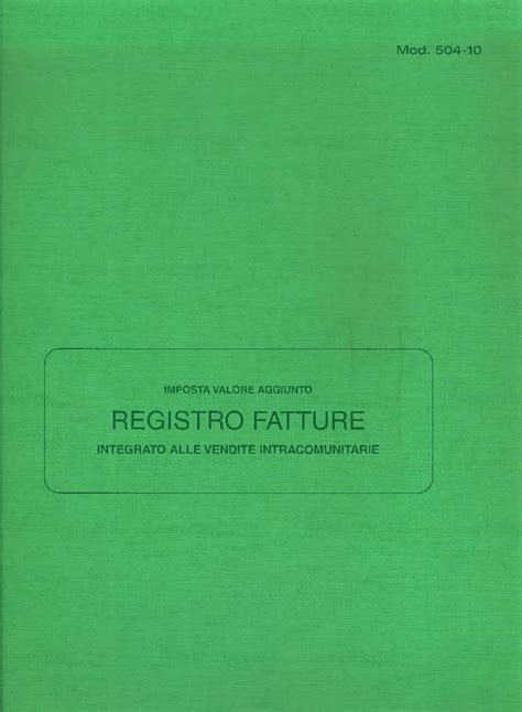 libreria giuridica bergamo registro fatture in catalogo registri contabili su