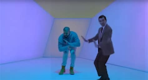 drake dancing with mr bean is our favourite hotline bling