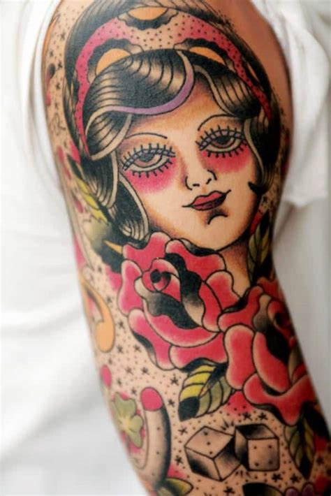 old school japanese tattoo style 55 beautiful gypsy tattoos for those forever wandering