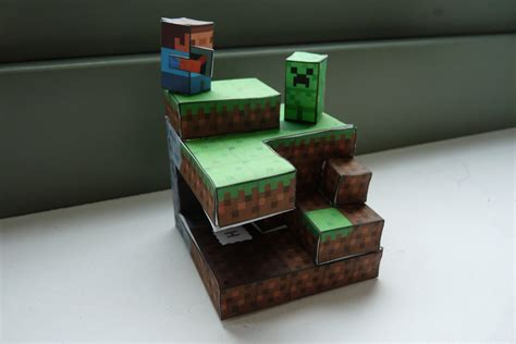 Minecraft Papercraft World - shoopsoldier stuff tubbypaws minecraft papercraft
